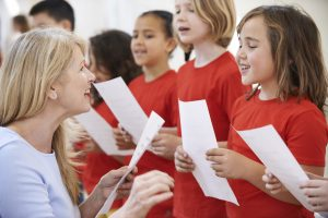 Children in Choir Developing Leadership Skills